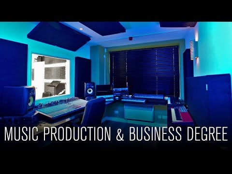 Online Degree Level Courses in Music Production & Business