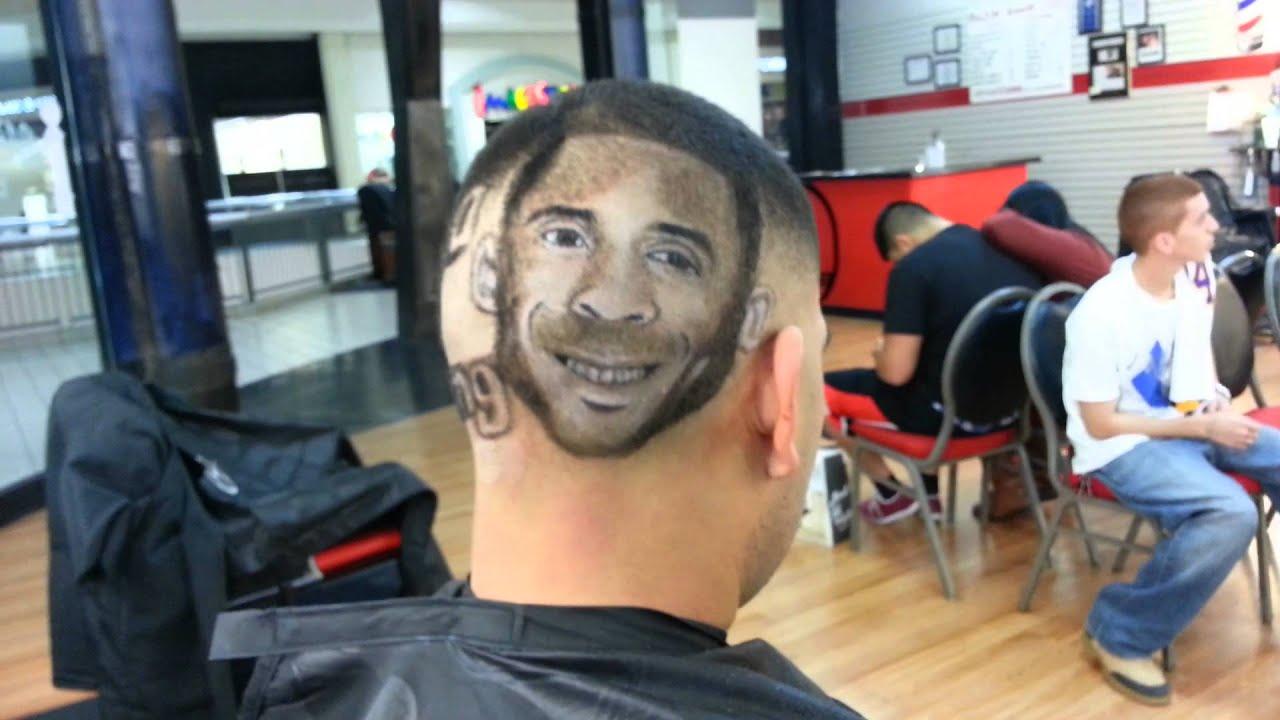 Thejoebarber-kobe bryant milestone hair design - YouTube