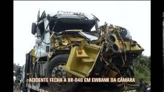 Ap�s mais de 15 horas, BR-040 � liberada em Ewbank da C�mara