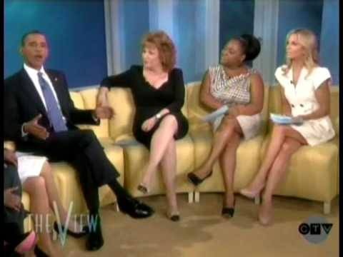 Barack Obama Goes On The View Part 1