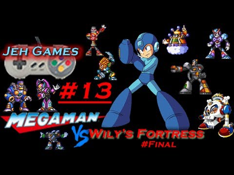 Jeh Games: Wily\'s Fortress #FINAL: 13