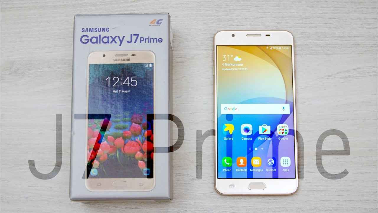 Yükle 4096x2304 Samsung Galaxy J7 Prime Unboxing & Hands
