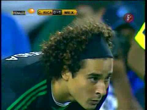 México vs Costa Rica  (PENALES) Copa de Oro 2009