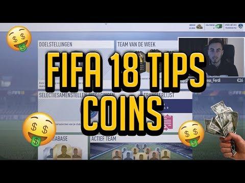 FIFA 18 TIPS! HOE KRIJG IK SNEL 60-100K+ COINS & 30K+ SPELER GEPACKED! [DUTCH]