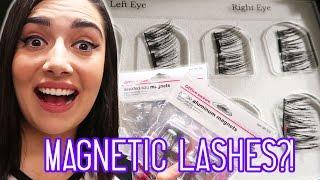 I Tried Magnetic Eyelashes