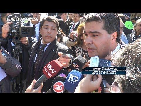 Capitanich no quiso opinar sobre el procesamiento de Amado Boudou