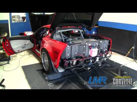 Twin Turbo Corvette makes 1244rwhp on pump gas