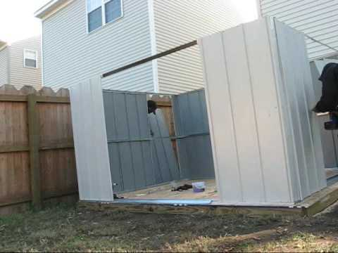 How To Storage Shed From Lowes Assembled By Hands For You