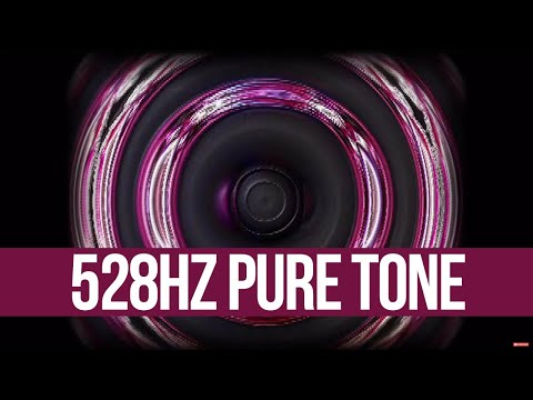528Hz (Single Tone)  DNA Repair? - The Sacred Solfeggio Harmonics