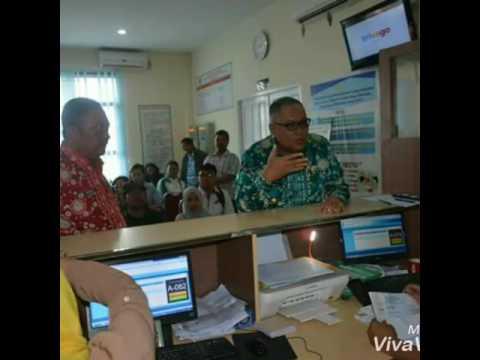 Bupati Rusman Ali Sidak Pelayanan e-KTP dan Administrasi Kependudukan lainnya