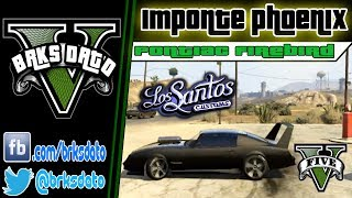 "GTA V Tunning Carros Raros Imponte Phoenix ""Pontiac"