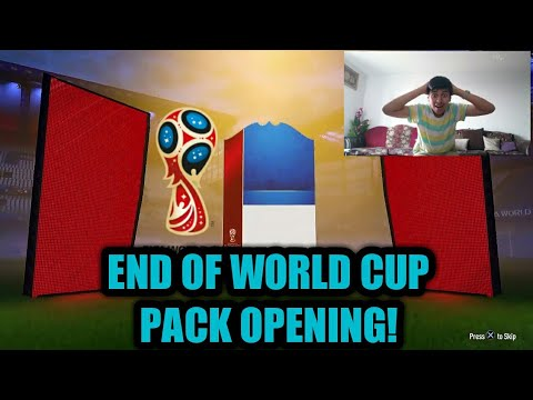 FIFA 18 END OF WORLD CUP PACK OPENING + PLAYER UPGRADES!