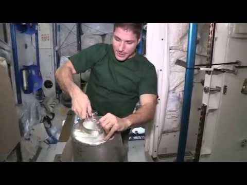 Inside The ISS - Let's Get This Potty Started