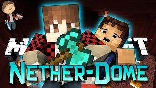 Minecraft: BATTLE-DOME w/Mitch & Friends Part 2 - LAVA!