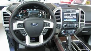 2015 Ford F150 Interior Walkaround 2014 Detroit Auto