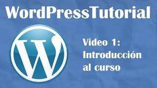 Aprende Wordpress desde cero -- 1