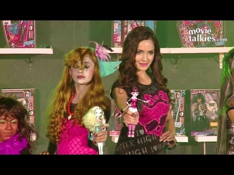 Shazahn Padamsee Represents Monster High Dolls!