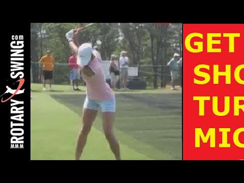 Michelle Wie US Open Champion Huge Shoulder Turn