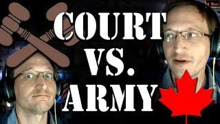 Who would win? Supreme Court vs. Canadian Army (In re Norton)