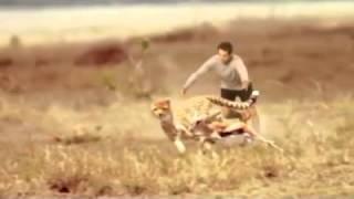Skechers Man Vs Cheetah Commercial TV Advertisement For Go