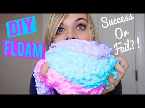 DIY FLOAM!  - Success or Fail?! // SoCassie