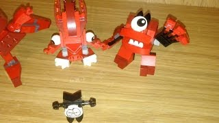Lego Mixels, Flain, Vulk, Zorch And Infernites Max, Toy