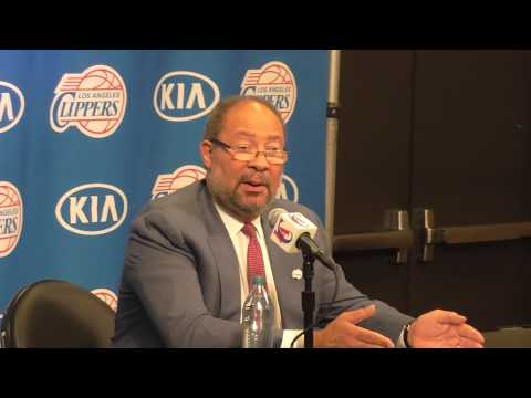 CLIPPERS PRESS CONFERENCE: INTERIM CEO - DICK PARSONS