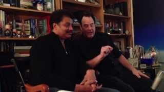 Ghosts,Neil deGrasse Tyson and Dan Aykroyd