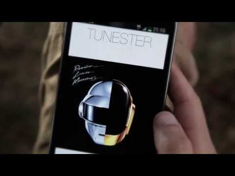 Tunester: Minimalist Music Player on Android (Official Video)