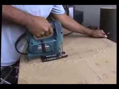 como hacer gabinetes de cocina en mdf por hector gonzalez flores youtube. Black Bedroom Furniture Sets. Home Design Ideas