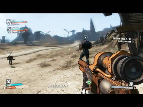 Borderlands - Gameplay Trailer