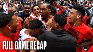 76ERS vs RAPTORS   JAW-DROPPING End to Series Finale!   Game 7