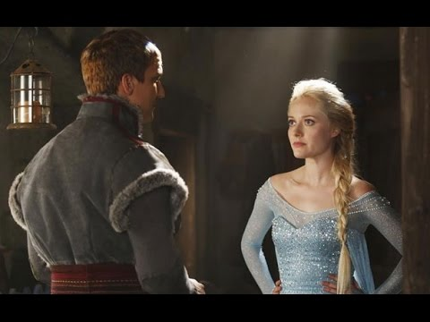 Once Upon a Time Season 4 Episode Photos: Frozen's Elsa & Kristoff Come Alive in New Pictures