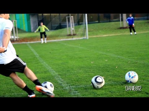 THE Football Free Kick Battle 2011 | freekickerz vs. DVDFussballtrainer | Amateure vs. Profi-Kicker