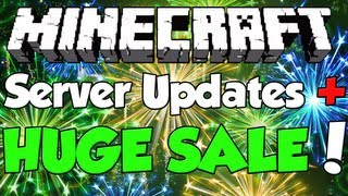 Minecraft: Server Update + 50% off of ALL PACKAGES!