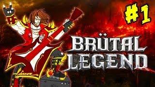 Brütal Legend Ep. 1 Playthrough FR HD Par Bob Lennon