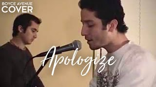 OneRepublic / Timbaland Apologize (Boyce Avenue Piano