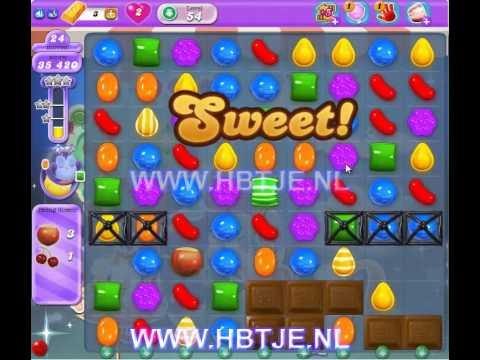 Candy Crush Saga Dreamworld level 54