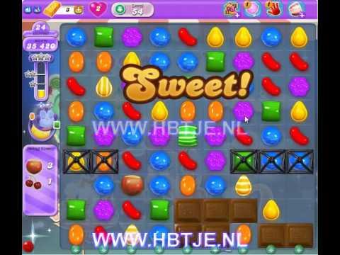 Candy Crush Saga Dreamworld level 54