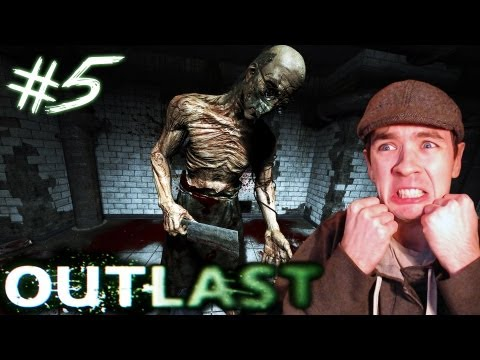 Outlast - Part 5 | CRAZY NAKED DOCTOR | Gameplay Walkthrough - Commentary/Face cam reaction