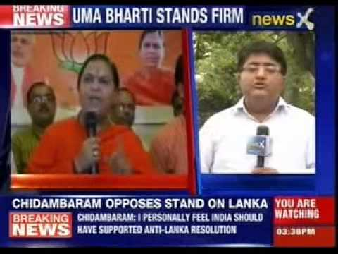 Uma Bharti will not be fielded against Sonia gandhi
