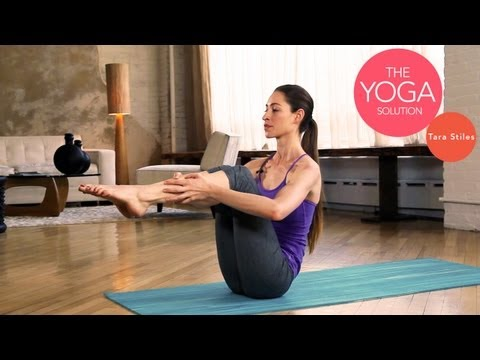 Strong Abs Routine | The Yoga Solution With Tara Stiles