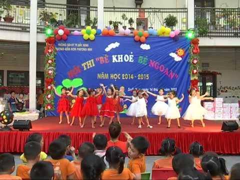 Hội Thi Bé Khỏe Bé Ngoan Trường Mầm Non Phương Anh 2015 1