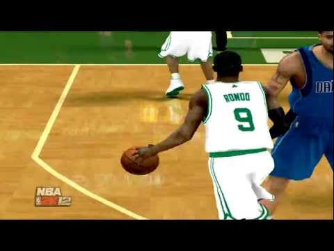 Nba 2k12-Ray Allen Throws the ball Away