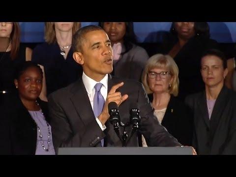 Obama: Women Deserve A Fair 21st Century Economy