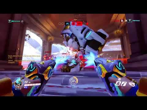 Overwatch gameplay Tracer Atlantique