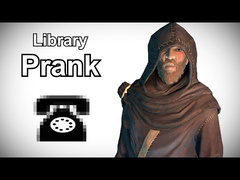 Septimus Searches For An Elder Scroll - Prank Call