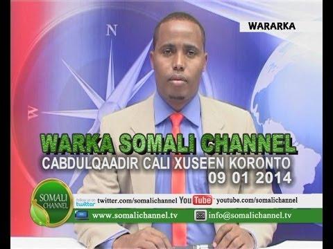 WARKA SOMALI CHANNEL NAIROBI CABDULQAADIR CALI XUSEEN KORONTO 09 01 2014