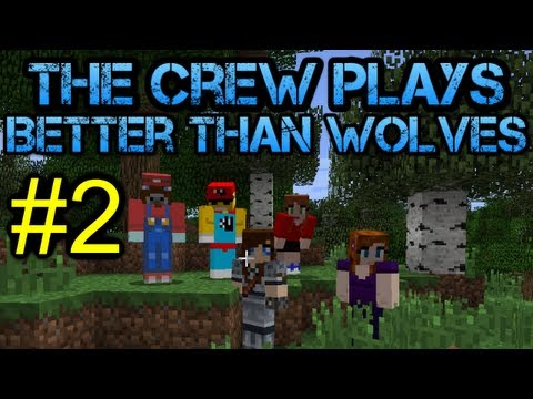 Minecraft - Better Than Wolves Let's Play - Episode 2