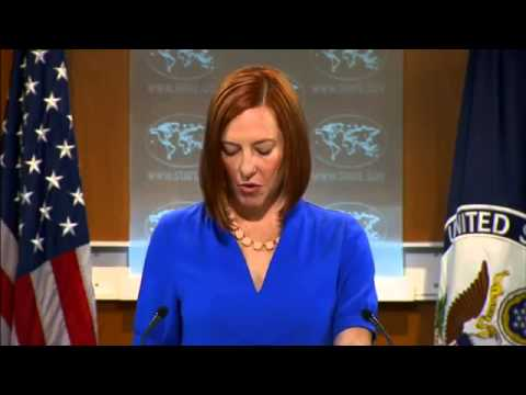 Psaki. On Translating Yatsenyuk. 17 June 2014